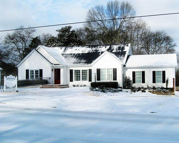 Woodall Orthodontic-Villa Rica During Our January Snow!!